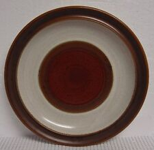 Denby POTTER'S WHEEL Salad Plate NICE RED RUST More Items Available