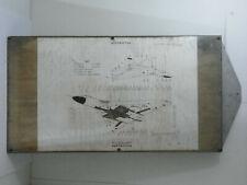 AVRO Vulcan B2 ~ Mounted Access Panel Chart A.P.101B-1902-1A ~ Oct 1980