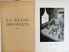 Jean Bruller Vercors Relevés trimestriels n°13 Illustré 20 planches Danse vivant