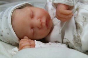 Soft silicone full body baby girl Nina #1 eco-flex 00-30+00-10