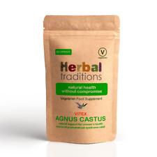 Herbal Traditions Vitex Agnus Castus Cápsulas - Mujer Suplemento Salud