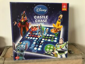 RARE DISNEY MICKEY & FRIENDS CASTLE CHASE PACHISI BOARD GAME BOXED