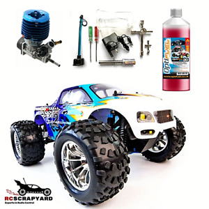 RC Cars Nitro Engine Monster Truck HSP Bug Crusher Buggy + Tools and Fuel RTR