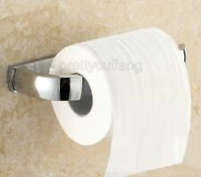 Bathroom Accessory Chrome Brass Wall Mounted Toilet Paper Roll Holder Pba838