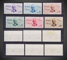 1934 ITALY AIR POST USED V EMM. III ROME TO MOGADISCIO  SCT. C73 -C78 MI.514 -19