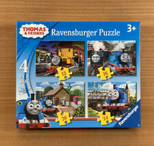 New And Sealed-Thomas And Friends-4 In A Box Original Ravensburger Puzzle