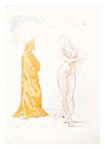 Divine Comedy Inferno 2 by Salvador Dali A4 Art Print