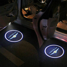 2pc For Chrysler Door Logo LED Laser Projector Step Courtesy Ghost Welcome Light