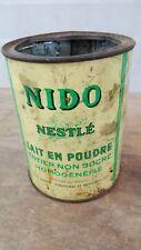 Boite ancienne NESTLE Nido Lait en poudre/métallique/déco rétro/collection