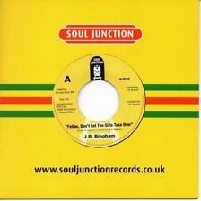 """JB Bingham les gars, ne laissez pas les filles Take Over New Modern Soul 45 7"""" vinyle"""