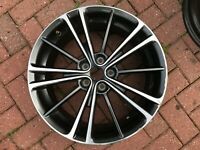 "GENUINE TOYOTA GT86 2.0 GT / BRZ / SUBARU 17"" SPARE ALLOY WHEEL FAST FREE P&P"