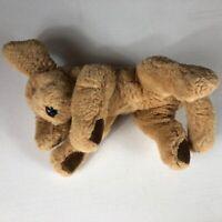 "GUND Plush Muttsy VTG Dog 10"" Stuffed Lab Golden Retriever Puppy Mutsy Brown Paw"