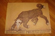 """Franciszek Starowieyski Polish Poster """"The White Marriage by T. Rozewicz"""" 1978"""