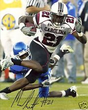 MARCUS LATTIMORE SOUTH CAROLINA SIGNED 8X10 PHOTO W/COA 12