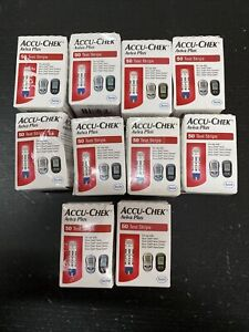 accu-chek Aviva plus Retail Diabetic test strips 500 Strips.