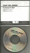Rilo Kiley JENNY & JOHNNY 4TRX SAMPLER PROMO DJ CD Single Johnathan Rice Lewis