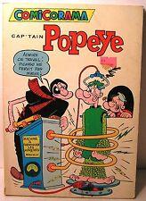 "album BD comicorama ""cap'tain Popeye"" spécial  n° 63 - 1971 - éd Heritage"