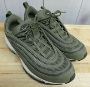 Rare Nike Air Max 97 Tiger Camouflage Camo Green Size 9.5 AQ4132-200 Mens Shoes