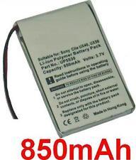 Batterie 850mAh type 1-756-381-11 UP553 Pour Sony Clie UX40, Sony Clie UX50
