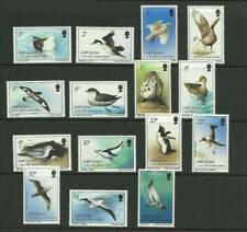 SOUTH GEORGIA SG161-175 BIRDS SET MNH