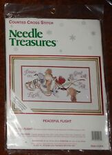 "Needle Treasures "" Peaceful Flight"" Counted Cross Stitch Kit (#02913) - NEW"