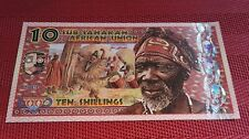 New!!! 10 Shillings 2019 Congo Sub-Saharan African Union Polymer Banknote UNC