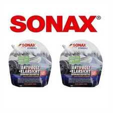 2 x 3L SONAX Xtreme anti-gelo + TRASPARENTE FINO A -20°C 232441 pronto all'uso