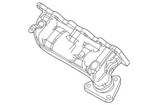Genuine Ford Exhaust Manifold DA5Z-9430-A