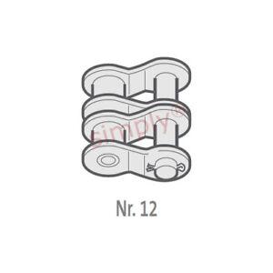 Renold BB 100-2-NO12 Ansi / As Dúplex Cadena Sng Acodado Pasador Enlace 3.2cm