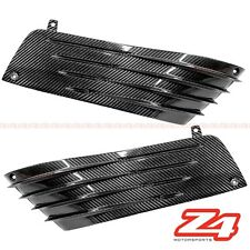 2006-2011 ZX-14 Side Engine Mid Trim Cover Knee Guard Fairing Cowl Carbon Fiber