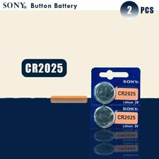2PCS SONY Original cr2025 Button Cell Batteries CR 2025