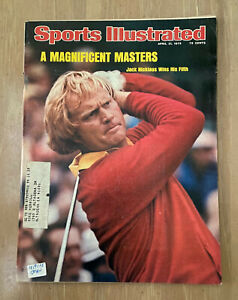 VINTAGE 1975 SPORTS ILLUSTRATED A MAGNIFICENT MASTERS - JACK NICKLAUS