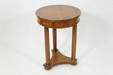 Tavolino in stile impero tondo