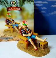DEPT 56 Margaritaville FLIPPED AND FLOPPED! Beach Buffet Fourth of July Vacation
