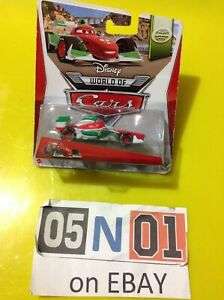 "Disney Pixar Cars Diecast Francesco Bernoulli World Grand Prix WGP ""VHTF"" (FB01)"