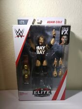 *NEW* WWE MATTEL ELITE SERIES 71 ADAM COLE FIGURE Undisputed NR MT/MINT