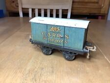 More details for hornby o gauge no.1 private owner van carrs biscuits