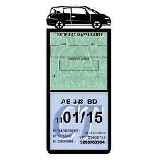 Porte vignette assurance AVANTIME RENAULT étui méga voiture Stickers auto rétro