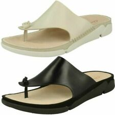 Ladies Trigenic By Clarks Toe Post Sandals Tri