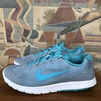 Nike Flex Experience RN 4 Womens Size 8 Running Shoes Gray Blue 749178-404