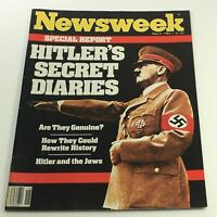 VTG Newsweek Magazine May 2 1983 - Adolf Hitler's Secret Diaries / Newsstand