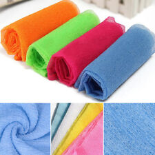 Salux Nylon Wash Cloth Towel Japanese Exfoliating Beauty Skin Bath Body Shower