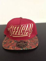 Stay Official - Red and Paisley Snapback