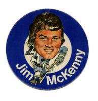 1973/74 Mac's Milk Jim McKenny Cloth Sticker Toronto Maple Leafs