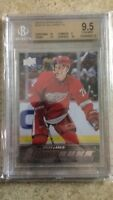 15-16 UD YG Young Guns Rookie RC #228 DYLAN LARKIN Graded BGS 9.5