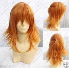 Jinguuji Ren New Long Cosplay Orange Blonde Wig+Free shipping z256