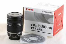 Objetivo Canon EF-S 18-200mm IS para EOS 1200D 750D 700D 70D 60D 7D (EFS 135mm)