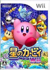 Used Wii Kirby's Return to Dreamland  NINTENDO JAPAN JP JAPANESE JAPONAIS IMPORT