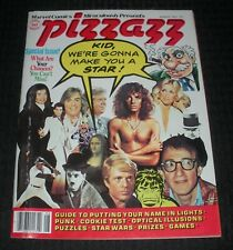 1978 PIZZAZZ Magazine #11 FN+ 6.5 Hulk / Peter Frampton / Suzanne Sommers