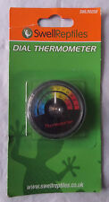SWELL REPTILES DIAL THERMOMETER - BRAND NEW,  (BXE)